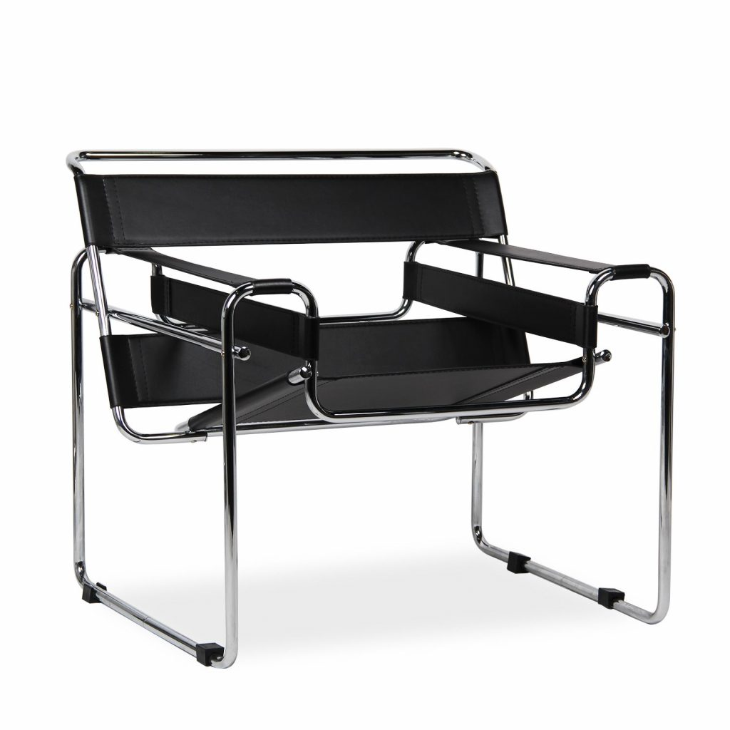 the wassily chair inspired by marcel breuer office furniture chairs supplies in dublin. Black Bedroom Furniture Sets. Home Design Ideas